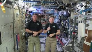 Space Station Crew Pays Tribute to John Glenn