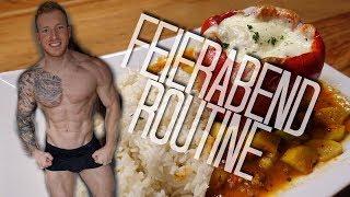 Fitness Feierabend Routine - Training, Kochen, Motivation - Schmale Schulter