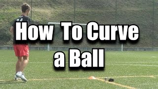 How to Curve a Ball/Bend it like Beckham (Como Rematar Curvo) - Tutorial | FreeKicksPT