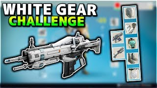 Destiny - WHITE GEAR CHALLENGE! THIS AUTO RIFLE IS BEAST! (MADE A NEW PS4 ACCOUNT)