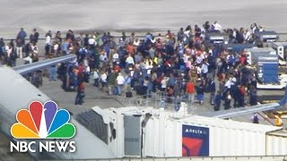 At Least Nine Shot At Fort Lauderdale Airport | NBC News