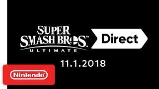 Super Smash Bros. Ultimate Direct 11.1.2018