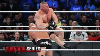 Goldberg vs. Brock Lesnar: Survivor Series 2016 on WWE Network