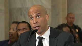 Senators testify against Jeff Sessions in unprecedented move