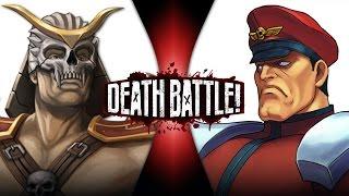 Shao Kahn VS M. Bison | DEATH BATTLE! | ScrewAttack!