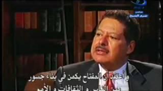 احمد زويل ورد قوى جدا للتلفزيون الامريكى