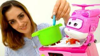 Videos mit #PlayDoh #Knete: eine Tomatensuppe für #Dizzy 💫 und #Gidget 🐩 #Kneten mit Sharon