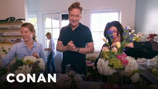 Conan Delivers Valentine