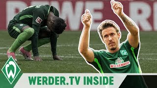 Sechs Tore & Max Kruse Comeback | WERDER.TV Inside nach Köln
