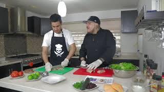 Cocinando con El Muerto Ep18.- Luke Jonathan - Ensalada para la dieta.
