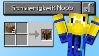 Schwierigkeit: Noob! (Neue Schwierigkeit in Minecraft)