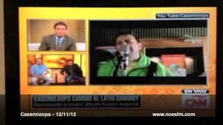 Caseroloops en CNN en Español / Carlos Montero (Desayuno Musical)