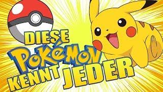 Diese Pokémon kennen selbst Nicht-Pokémonfans!