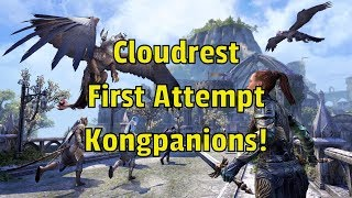 Cloudrest Trial - Normal - First Attempt - Kongpanions Guild Run!