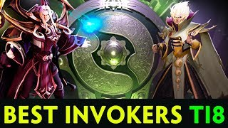 BEST INVOKERS of The International 2018