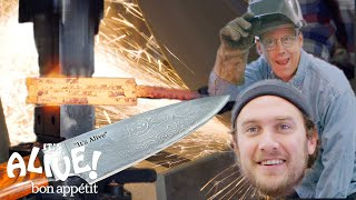Brad Makes A Knife with Bob Kramer | It