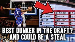 Why Terrance Ferguson Could Be A Huge Steal From The 2017 NBA Draft | Best Dunker In The Draft?