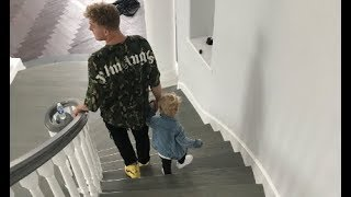Mini Jake Paul Goes To The TEAM 10 HOUSE! **First Time**