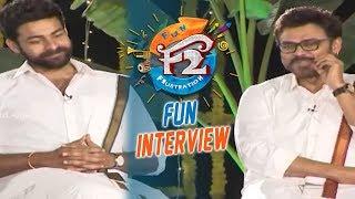 F2 Sankranthi Interview - Venkatesh, Varun Tej, Tamannaah, Mehreen | Anil Ravipudi