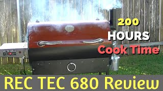 Rec Tec 680 Review - After 200 Hours of Cook Time