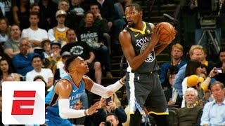 Time seems to heal wounds in Kevin Durant-Russell Westbrook relationship   ESPN