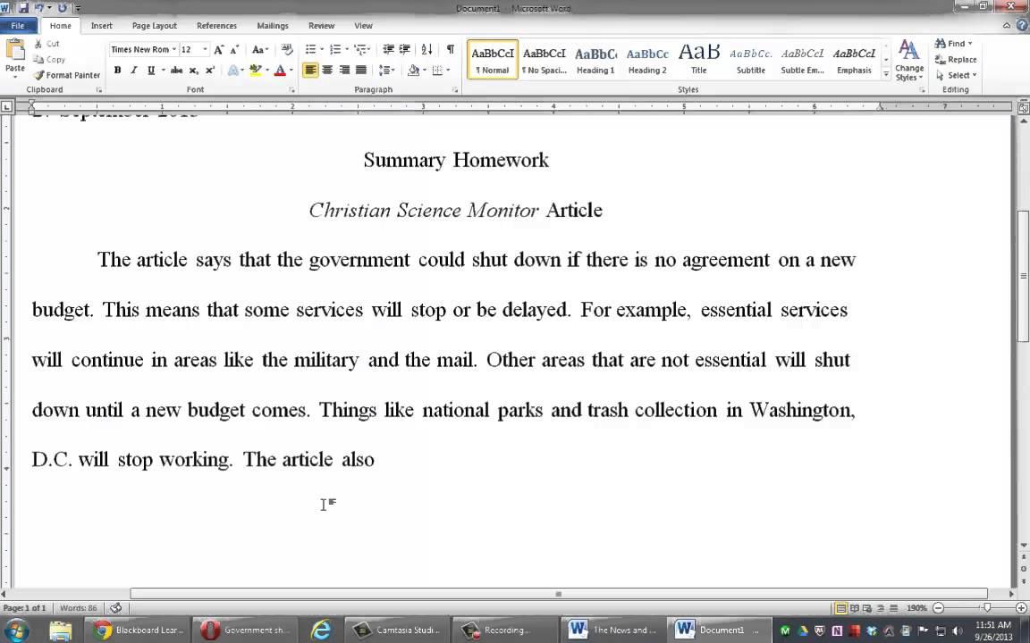 Descriptive essay sample for high school