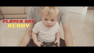 Vlogger Creates Nostalgic Baby Announcement with 90s