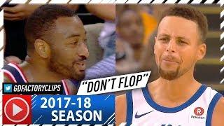 Stephen Curry vs John Wall INTENSE PG Duel Highlights (2017.10.27) Warriors vs Wizards - TRASH TALK!