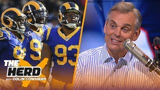 Colin Cowherd on the Rams setting a free agency standard, talks Patriots' dynasty | NFL | THE HERD