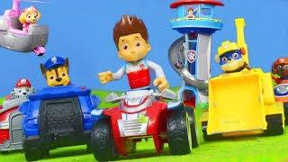PAW PATROL PUPS: Ryder, Rubble, Chase & Feuerwehrmann Marshall | PAW PATROL Video auf deutsch