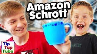 Das große Amazon SCHROTT Wichteln! SCHROTT für ALLE! 😂  TipTapTube