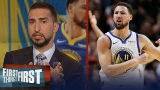 Klay Thompson was not snubbed from the All-NBA team - Nick Wright   NBA   FIRST THINGS FIRST