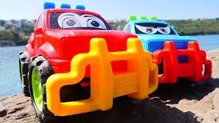 Tolle #Spielzeugautos - Ein Tag am Meer - Hier gibt es viel zu entdecken