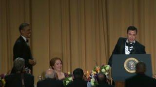 Best Obama, Kimmel jokes from WH Correspondants Dinner