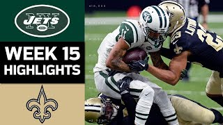 Jets vs. Saints | NFL Week 15 Game Highlights