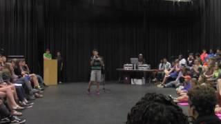 "Royce Mann, Age 14, ""White Boy Privilege"", Slam Poem"