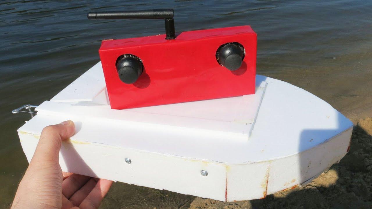 Как сделать кораблик своими руками на радиоуправлении