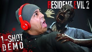 WHY ARE THESE ZOMBIES SO THICCCC!!? [RESIDENT EVIL 2] [1-SHOT DEMO]