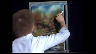 Bob Ross - Malerei Unfall ins Glück - Malerei Video