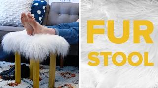 Budget-Friendly Fur Stool