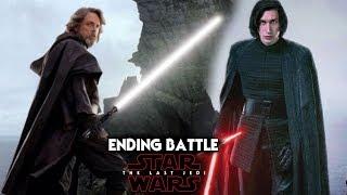 Star Wars The Last Jedi Ending Battle Leaked Description SPOILERS