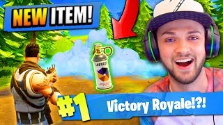 "Using the NEW ""SMOKE GRENADE"" in Fortnite: Battle Royale!"
