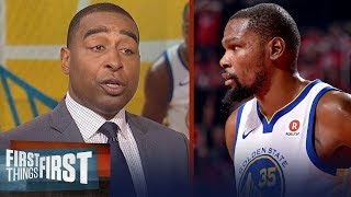 Cris Carter praises Kevin Durant in Warriors