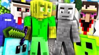 CAMO BATTLE in UTOPIA?! - Minecraft CAMO BATTLE