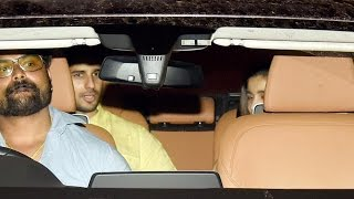 Sidharth Malhotra & Alia Bhatt SPOTTED At A Party With Friends