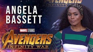 Angela Bassett Live at the Avengers: Infinity War Premiere