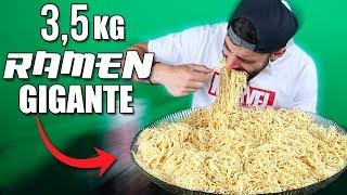 3,5KG (7,7lb) DE RAMEN | MI MAYOR RETO DE COMIDA HASTA HOY