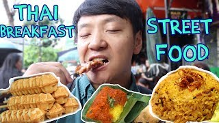 Thai BREAKFAST Street Food Tour in Bangkok Silom Soi 20