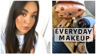 5 min GET READY WITH ME Herbst Makeup Routine & Travel Makeup Essentials