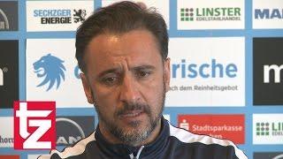 TSV 1860: Coach Vitor Pereira zum Spiel gegen Würzburg